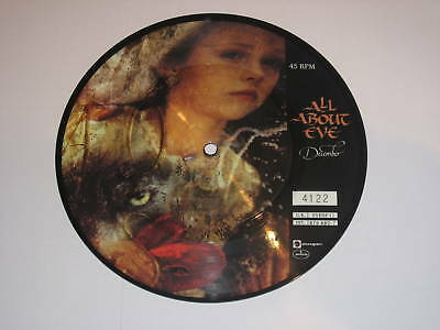 ALL ABOUT EVE - December - Rare 1989 UK Picture Disc 7""