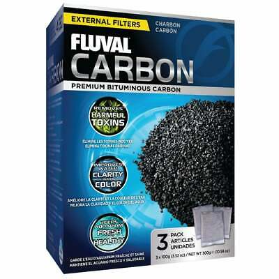 HAGEN FLUVAL ACTIVATED CARBON 3x100g BAGS