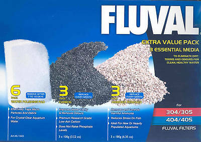 Hagen Fluval Extra Value Media Pack For 305 / 405