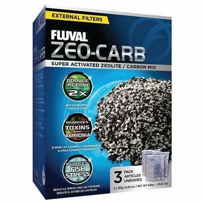 HAGEN FLUVAL ZEO CARB FILTER MEDIA 450g CARBON