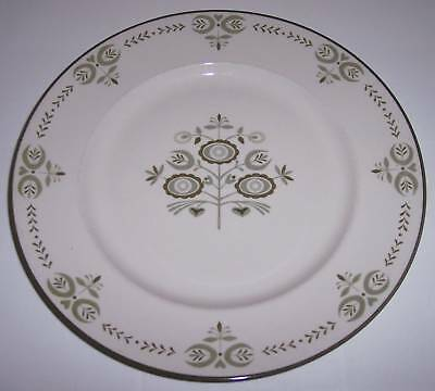 Franciscan Pottery Family China Heritage Dinner Plate!