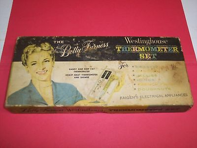 RK649 Vintage Betty Furness Westinghouse Thermometer