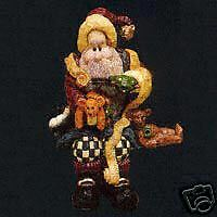 Boyds Ornaments Santa and the Final Inspection #370203
