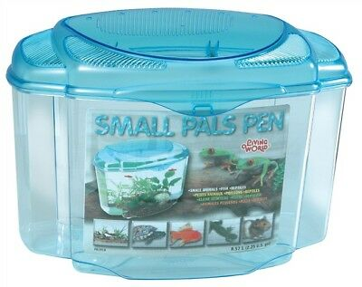 Pals Pen Plastic Fish Reptile Aquarium Bowl Tank Large