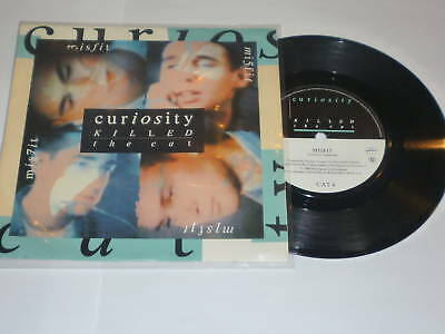 CURIOSITY KILLED THE CAT - Misfit - Deleted 1986 UK 7""