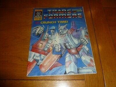 The TRANSFORMERS Comic - No 86 - Date 08/11/1986 - UK Marvel Paper Comic