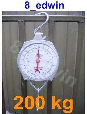 Brand New Quality Hanging Metal Scale up to 200 kg (440 lb) - Cushioning Packed