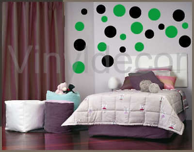 216 polka dots circles vinyl wall art stickers decal BG