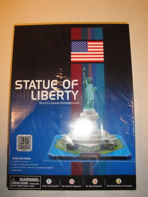 NEW Statue of Liberty 3D Puzzle Great Architecture NIB