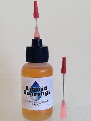 Liquid Bearings, BEST 100%-synthetic oil for Wurlitzer or any jukebox, READ!!