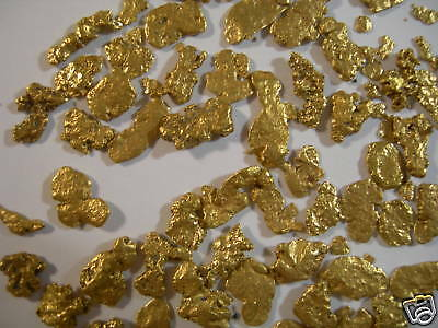 2 lb Montana gold nugget panning paydirt mining sluice