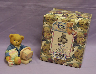 Enesco Cherished Teddies Terry Friendship Is More Than