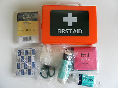 PSV / Coach / Vehicle First Aid Kit in Case + Bracket
