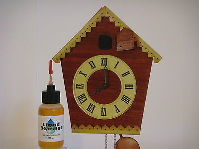 THE BEST synthetic oil for Pendulum clocks, READ THIS!!