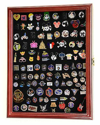 Lapel Pin Pins Patches Medals Buttons Ribbons Display Case Cabinet Shadow Box