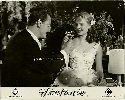 Original Kino Aushang Photo, Stefanie, von 1958