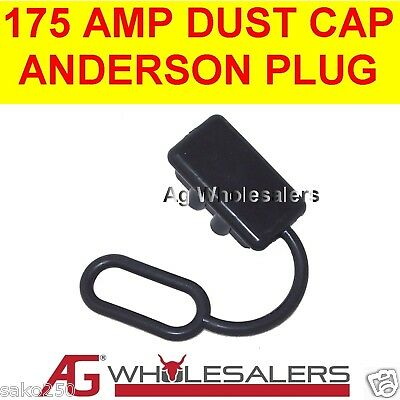 175 AMP DUST CAP COVER BLACK ANDERSON PLUG DUAL BATTERY 175a