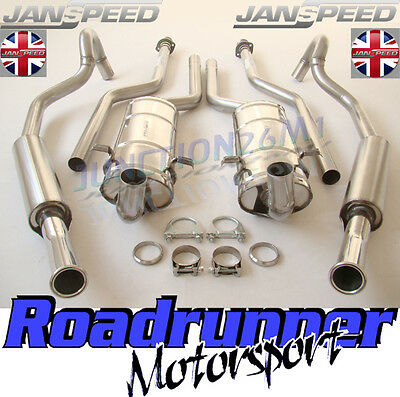 Janspeed Capri 2.8i & 3.0 Stainless Steel Exhaust System SS657