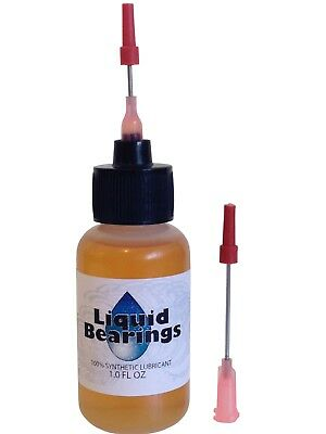 Liquid Bearings, BEST 100%-synthetic oil for any typewriter, includes 2 needles!