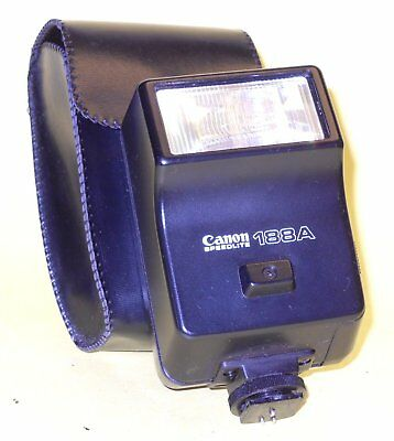 Canon Speedlite 188A Flash in very good condition