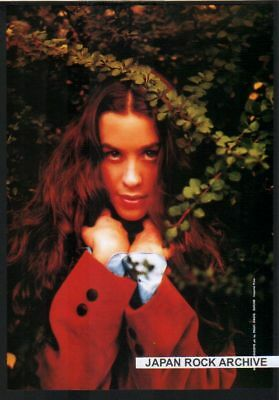 1997 ALANIS MORISSETTE JAPAN mag PHOTO PINUP witchy!