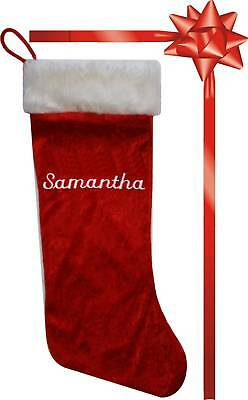 Personalised Christmas Santa Stocking / Christmas Sack