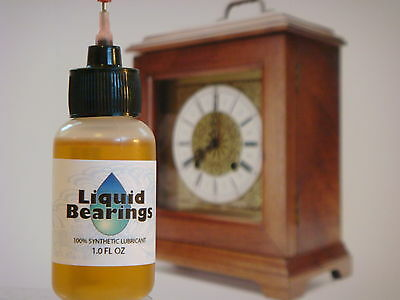 Liquid Bearings, SUPERIOR LUBRICATION for any clock, PLEASE READ THIS!!!