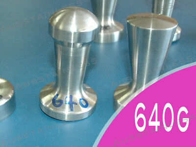 640g COFFEE TAMPER Style B - 100% 304 S/S 52mm NEW !!