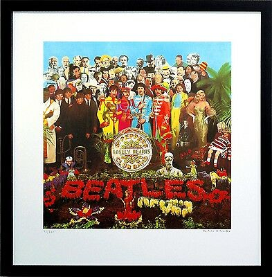 The Beatles Signed SGT Sergeant Pepper Poster Art Print