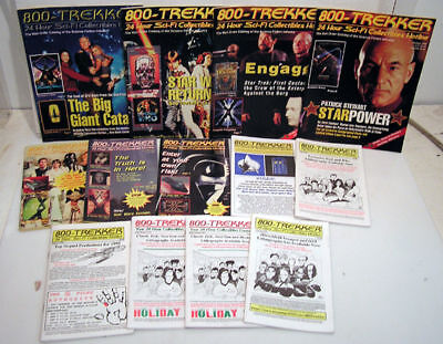 Lot of 13 1-800-TREKKER Collectibles Magazine/Catalog