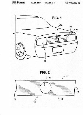 MUSTANG & CAMARO  Blackout Panel Invention Patent