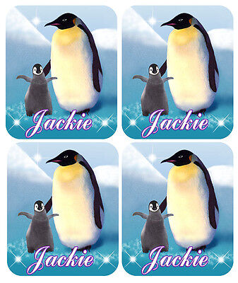 Penguin And Baby Decal Bumper Sticker Personalize Gifts