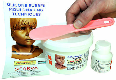 RTV Silicone Mould Making Rubber 550g Kit - Shore A22