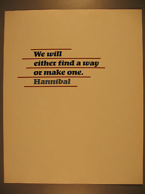 Broadside, We Will Either Find a Way, Hannibal, 1987