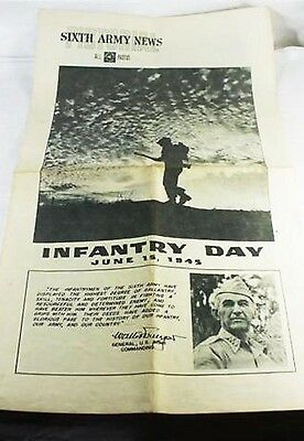 WWII Sixth Army News Pictorial-June 15, 45 Infantry Day