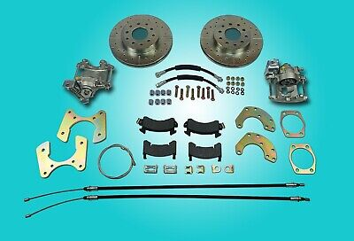 "Ford 9"" new large bearing rear disc brake conversion"
