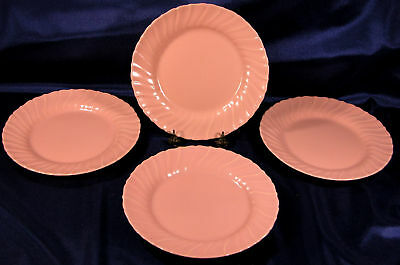 Franciscan Gladding-Mcbean Coral Luncheon Plates 4 * *