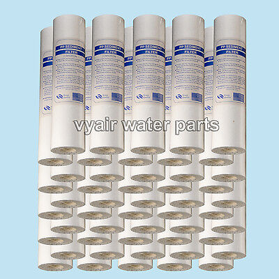 50x 10 MICRON SEDIMENT  WATER FILTER RO REVERSE OSMOSIS