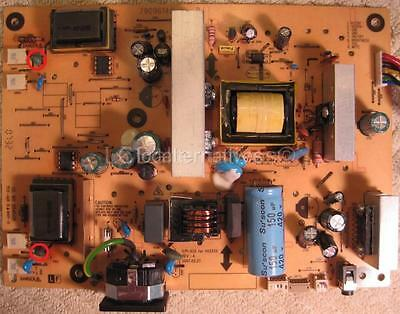 Repair Kit, Viewsonic VX2255WMB-2 LCD Monitor Capacitor