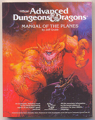 AD&D MANUAL OF THE PLANES Miniaturized Book TWE2022