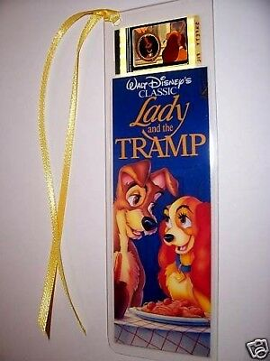 LADY AND THE TRAMP Movie Memorabilia Film Cell Bookmark