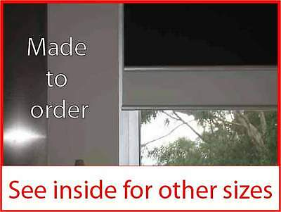Dual holland roller blind 600w x 1800mm various colours