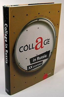 Russian Collage Avant-Garde Art Painting Refernce Book