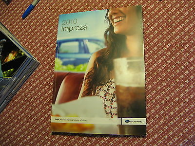 2010 10 Subaru Impreza Sales Brochure Book Manual