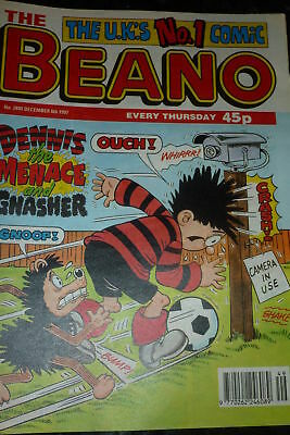 THE BEANO Comic - ISSUE 2890 - Date 06/12/1997 - UK paper comic
