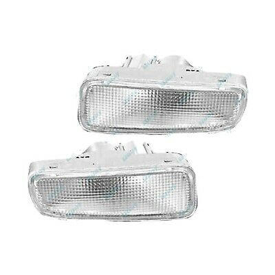 Holden Rodeo 98-03 Clear Front Bar Indicators Lights X2