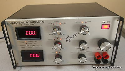 Hoefer Scientific Instruments Ps 1200 Dc Power Supply