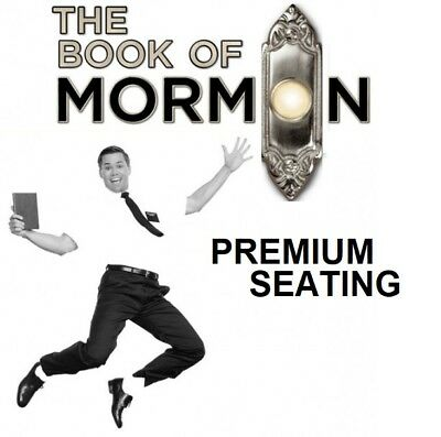 The Book Of Mormon On Broadway Premium Orchestra Seating - Most Dates Available
