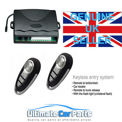UNIVERSAL REMOTE CENTRAL LOCKING UPGRADE KIT 2017 MODEL UK Supplied Same day