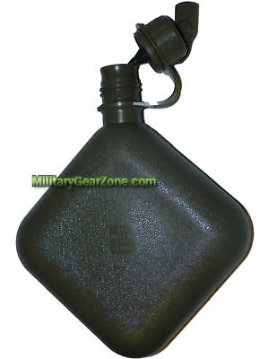 New US OD Green 2qt Collapsible Water Canteen Hydration